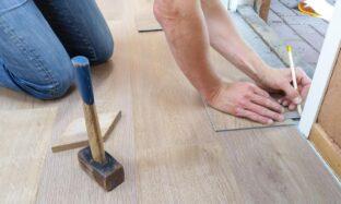 układanie paneli podłogowych krok po kroku